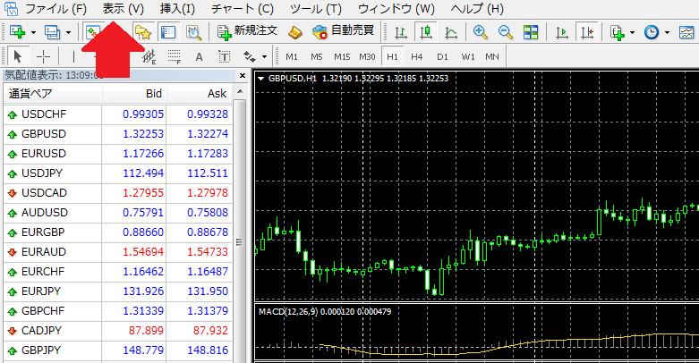 MT4通貨ペア追加説明