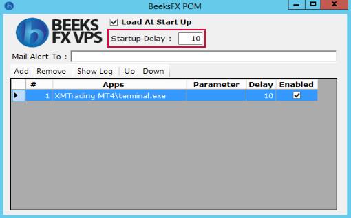 StartUp Delay