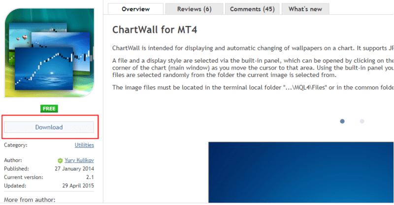 chartwallのダウンロード